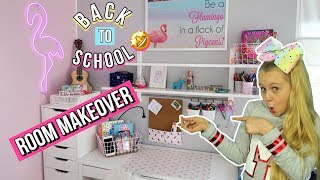 BACK TO SCHOOL 📚 ROOMTOUR 2018 Schule Makeover MaVie