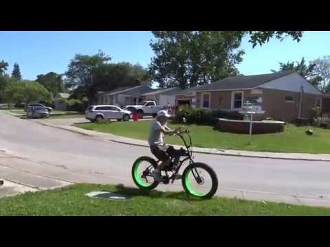 Fat Tire Bike-Sikk UFO Motorized with Shift Kit  ...