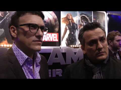 Directors Anthony & Joe Russo Interview - Captain America The Winter Soldier Premiere