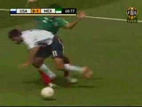 USA Mexico Gold Cup Soccer Video
