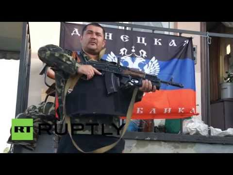 Ukraine: Outskirts of Slavyansk on lockdown ahead of referendum