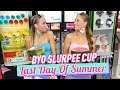 BYO Slurpee Cup/Last Day of Summer | The Rybka Twins