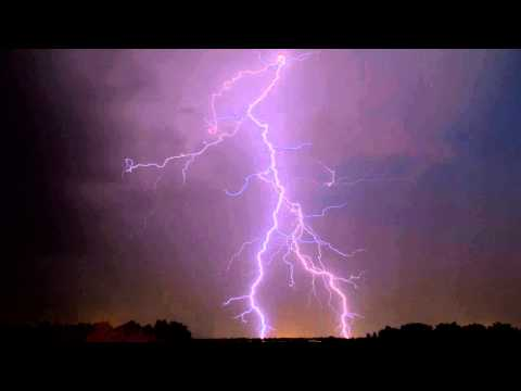 1 hour of gentle rain and thunder sounds for relaxation, meditation and sleep