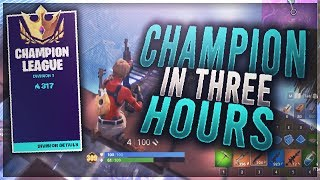 How I Went From 0 points to Champion in 2 hours and 47 minutes