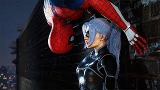 Spider-man Chasing Black Cat Full Scene - SPIDER-MAN PS4 THE HEIST DLC