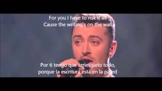 Download Lagu Sam Smith Writing's on the wall Subtitulado Gratis STAFABAND