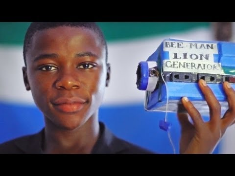 Story of a very special 15-year-old from Sierra Leone - Self-taught African Teen Wows M.I.T.
