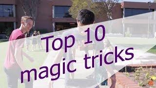 10 Magic Tricks That You Can Do || top 10 secrets