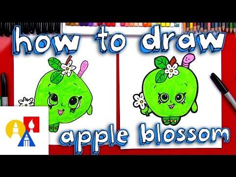 How To Draw Apple Blossom Shopkin
