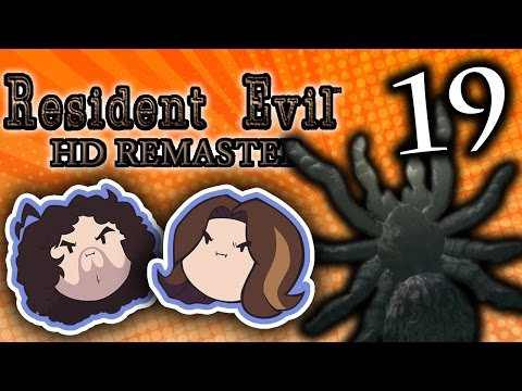 Resident Evil HD: Look At That Spider - PART 19 - Game Grumps