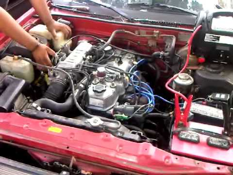 1985 Celica Gts Convertible Engine Rev Issue Youtube