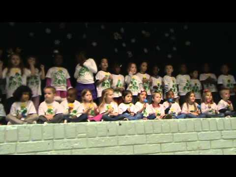 Grovetown Elementary School Pre-K Christmas 2012 (Unedited) Part 1