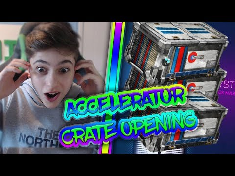 ACCELERATOR CRATE OPENING ROCKET LEAGUE | ROAD TO 100K | CRATE OPENING | TRADE UPS | LIVE