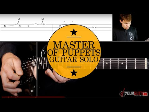 Metallica - Master of puppets kirk s