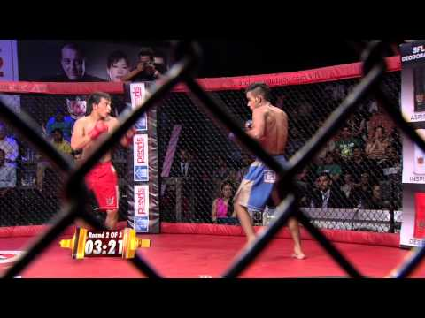 MMA in India: Super Fight League 18 - Sachin Panwar Vs Uchit Sharma