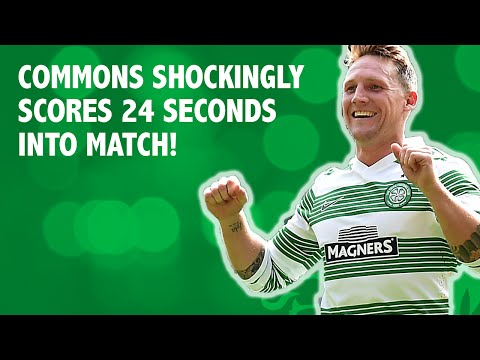 Commons scores 24 seconds after kick off!