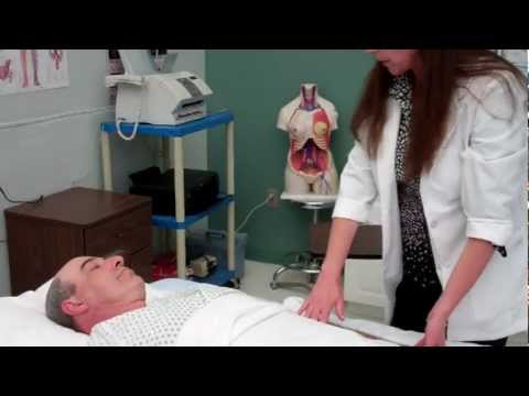 CNA Essential Skills - Passive Range of Motion (PROM) for One Shoulder (3:12)