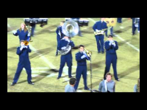 The Blue Thunder Marching Band (J R Arnold High School)