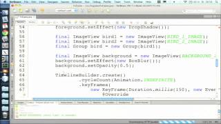 Live-Coding BOF: Writing a Game with JavaFX