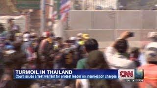 Court calls for arrest of  protest leader  12/1/13   (Riots)