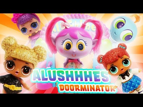 LOL Surprise Dolls and Alushhhes Doorminator Unboxing with Distroller World NeoNate Baby Lloyd!
