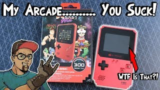I Am Done With My Arcade! Pixel Classic Handheld Review!