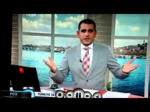 SPIKER COK FENA YAKALANDI..  Fenasi Kerim (Canlı Yayın) FOX TV