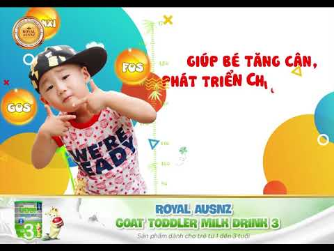 Goat Todller Milk Drink 3 - Sữa dê hoàng gia số 3