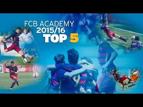 FCB Masia-Academy: Top goals 2015/16