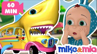 Baby Shark | Nursery Rhymes and Kids Songs | Mike and Mia