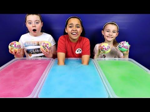 GELLI BAFF TOY CHALLENGE GAME! LOL Surprise Baby Dolls | Toys AndMe