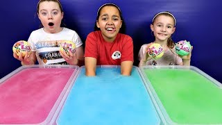 GELLI BAFF TOY CHALLENGE GAME! LOL Surprise Baby Dolls | Toys AndMe