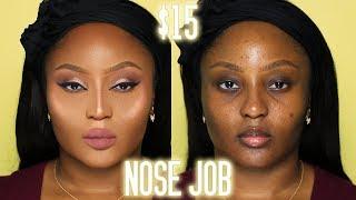 How to fake a $10,000 nose job   Nose Contour