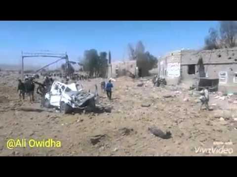 فيديو: شاهد أول فيديو ينشر لمعسكر فرضة نهم بعد سيطرة المقاومة علية وفرار ميليشيات الحوثي