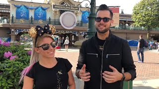 Alexa Bliss and Mike Rome visit Disneyland Paris
