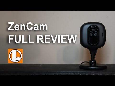 Zencam 1080p Security Camera Review - Unboxing, Features, Setup, Settings, Sample Footage
