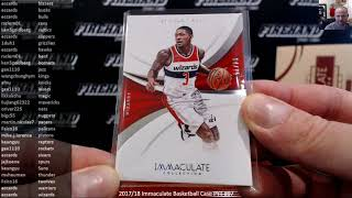 2017/18 Immaculate Basketball Case PYT #97 ~ 5/23/19