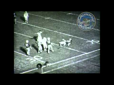 Capitol Hill High School vs. Northwest Classen High School football game. 1950