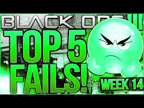 Call of Duty Black Ops 3 - Top 5 FAILS of the Week #14 - BIGGEST FAILS EVER!!!! (BO3 Top 5 Fails)