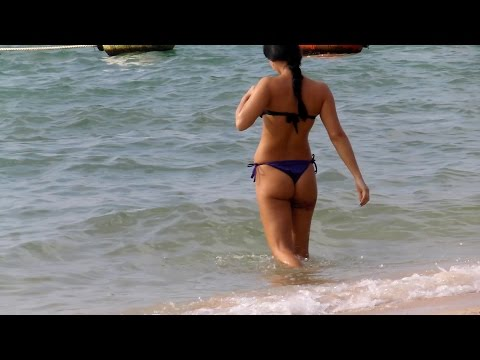 Pattaya. - Beach, Girls, Watersports. video