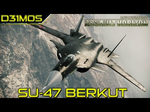 Ace Combat: Assault Horizon #14 Defesa de Miami! Su-47 Vs PAK-FA(aka T-50)