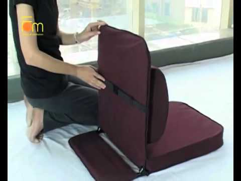Relaxing buddha meditation chair with detachable wide back support youtube