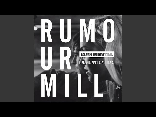 Rumour Mill feat. Anne-Marie amp Will Heard Jesse Rose Remix
