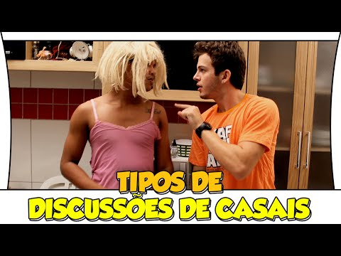 TIPOS DE DISCUSSÕES DE CASAIS