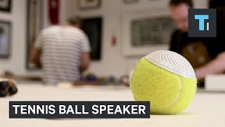 These Wimbledon​ tennis balls were turned into speakers