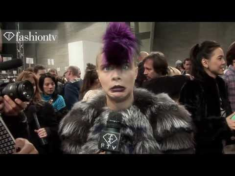 Cara Delevingne: Model Talk | Fall/Winter 2013-14 Fashion Week | FashionTV