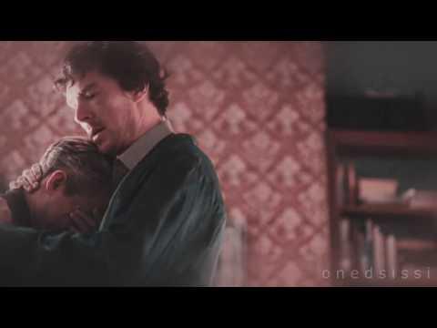 john and sherlock hug ♡ (scene without background music)