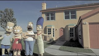 The Simpsons - The FORGOTTEN Real Life Cartoon TV House