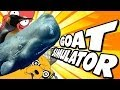 Goat Simulator: WHALE GOAT, CLASSY GOAT, EASTER EGGS AND MORE!!