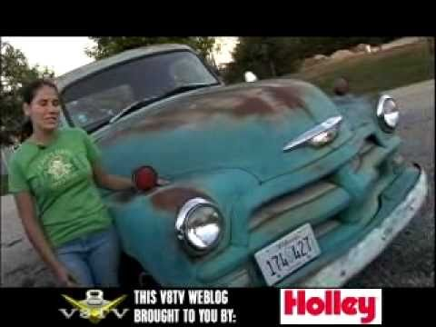 Kelle's 1954 Shop Truck Restoration Part 1